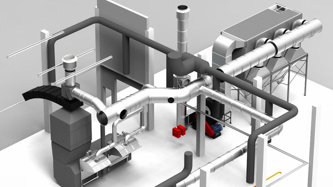 ipari légtisztítás, render, 3d tervezés, porleválasztó, ipari légtisztító, ipari elszívó, ipari elszívás, környezetvédelem
