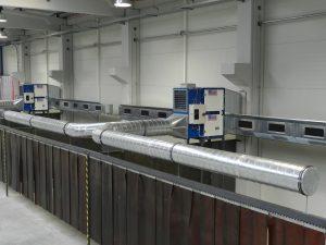 központi elszívó, foxer, egyedi gépgyártás, légtechnika, légcsatorna, ipari elszívó, légtisztítás