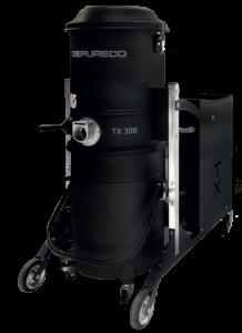 depureco tx300 ipari porszívó száraz-nedves nagy teljesítmény foxer