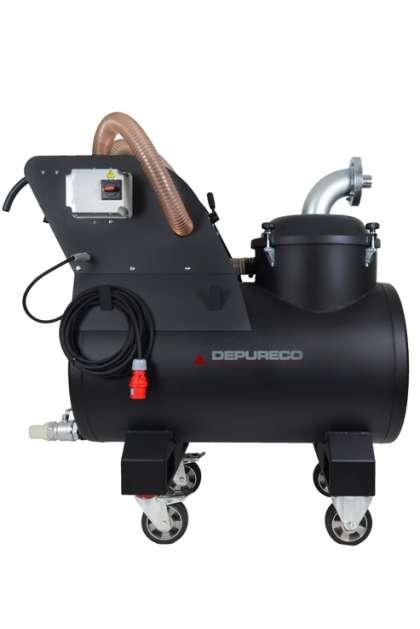 depureco ram olaj forgács felszívó gép takarító berendezés foxer