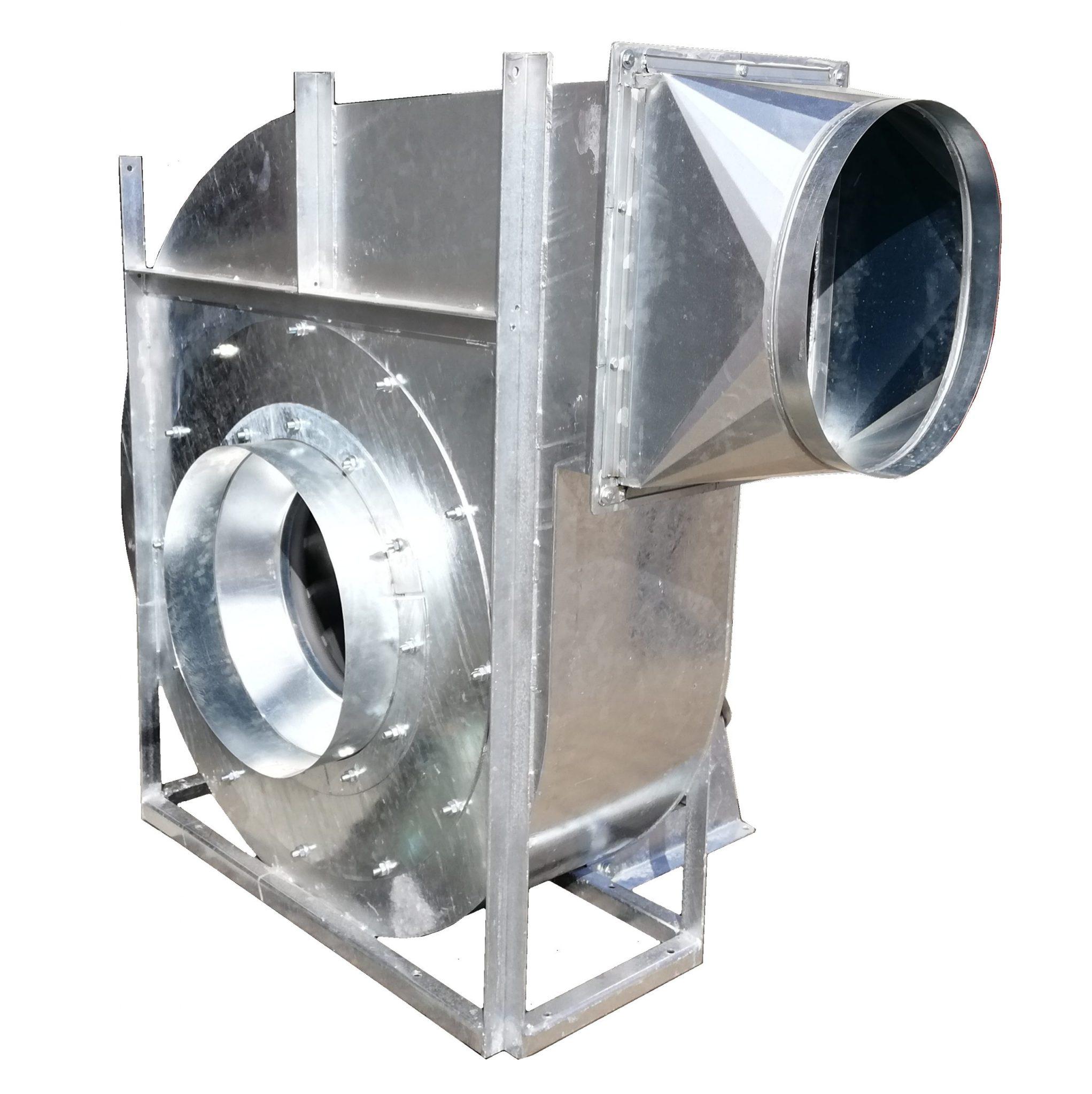 ipari radiális elszívó ventilátor horganyzott foxer gyártás