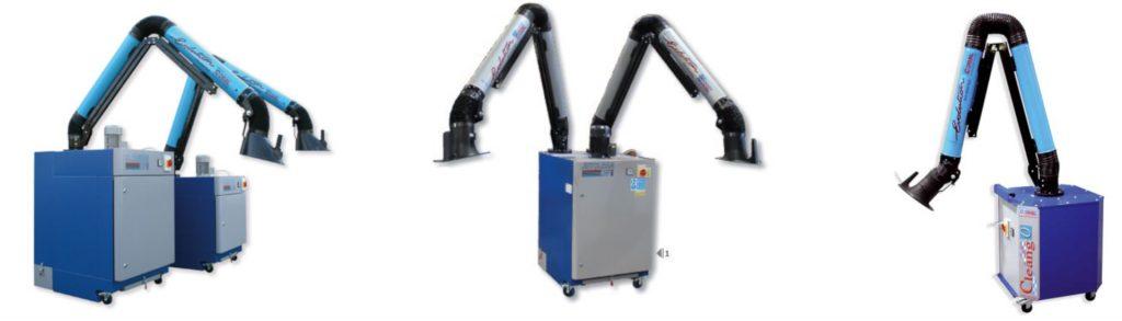 coral ipari hegesztési mobil elszívó cleango jetclean légtisztítás foxer