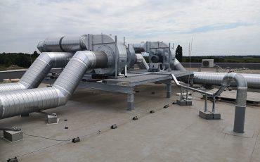 ipari ventilátor 30kw egyedi pódium csarnok légtisztítás foxer
