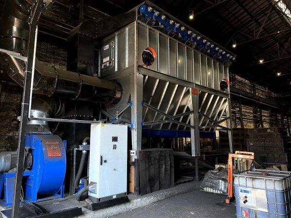 ipari elszívás foxer kft ventilátor porleválasztó